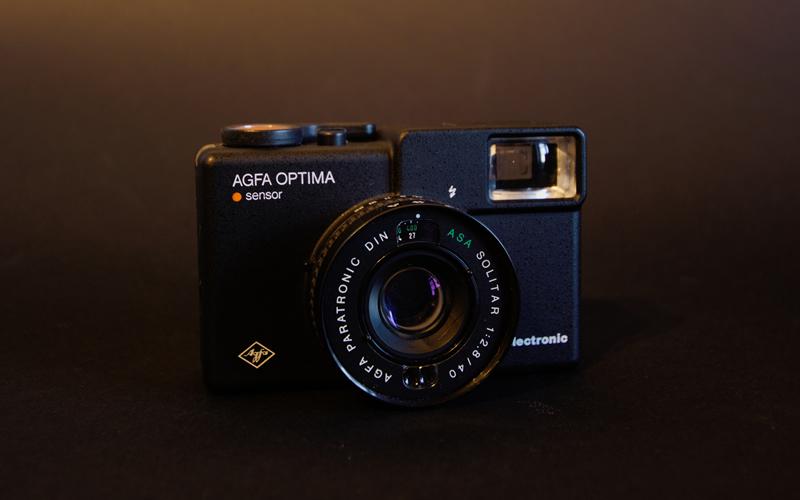 Vintage 35mm Agfa Optima compact Camera
