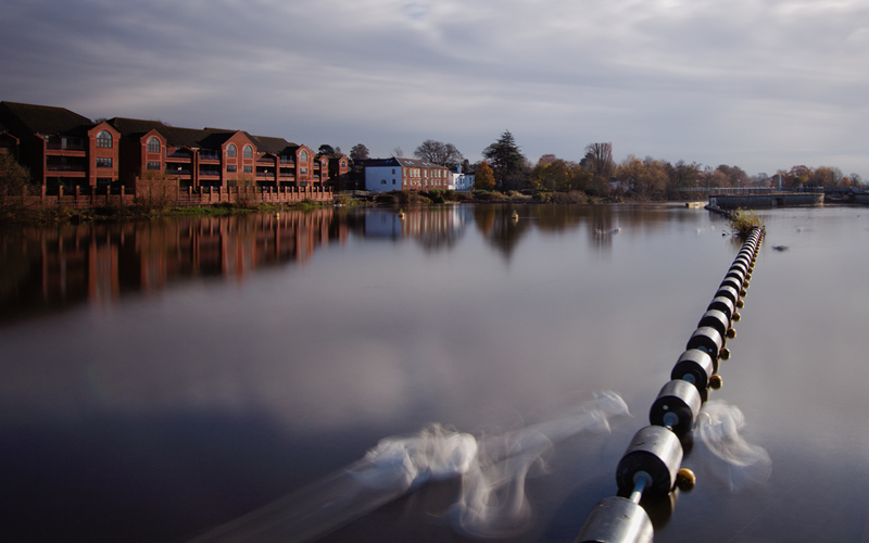 Website Re-imagined page image - Long Exposure of Exeter Quayside
