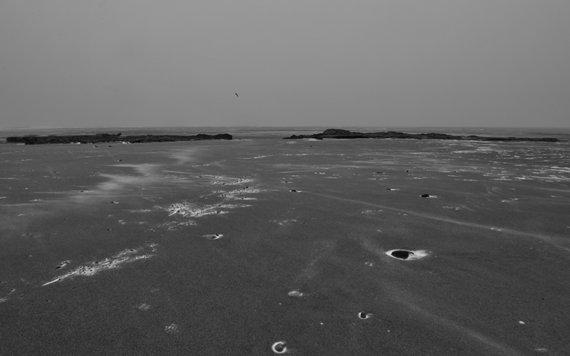 Exmouth Beach - or a shot of the Mars landscape?