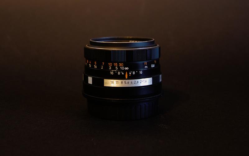 Vintage Pentacon 50mm Prime lens