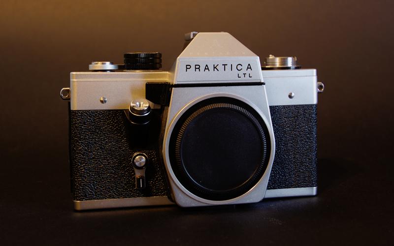Vintage Practika 35mm SLR Camera