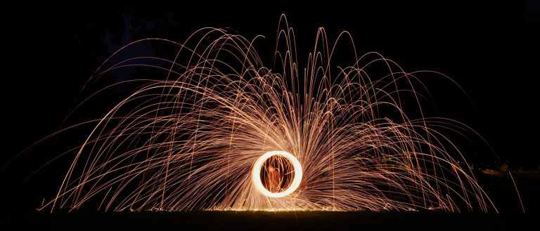 Wire Wool Spinning…