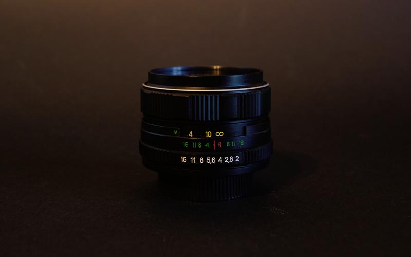 Unusual Zenit 58mm f2 Lens