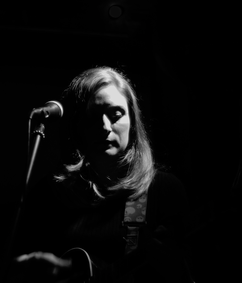 Live Music - Hel Triebel - performing at an 'Open Mic'
